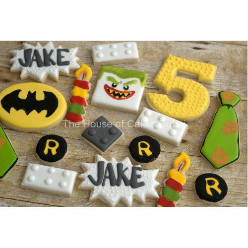 5th birthday cookies set
