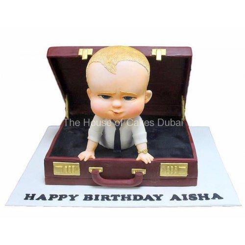 Baby Boss Cake 1