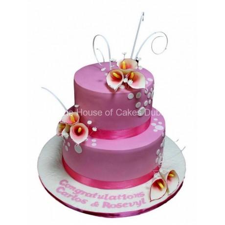calla lily cake 7 6