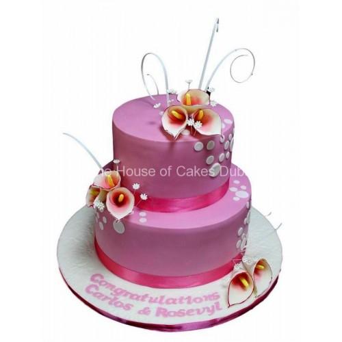 calla lily cake 7 7