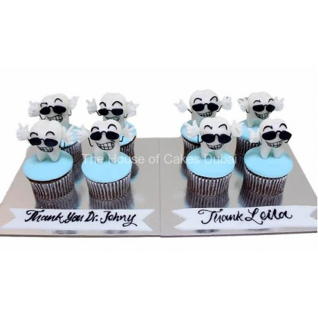 tooth cupcakes 1 6