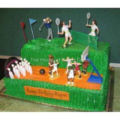 Sport Theme Cake