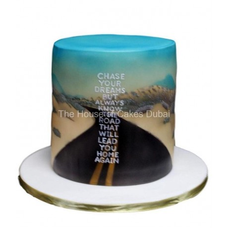 chase your dreams cake 6