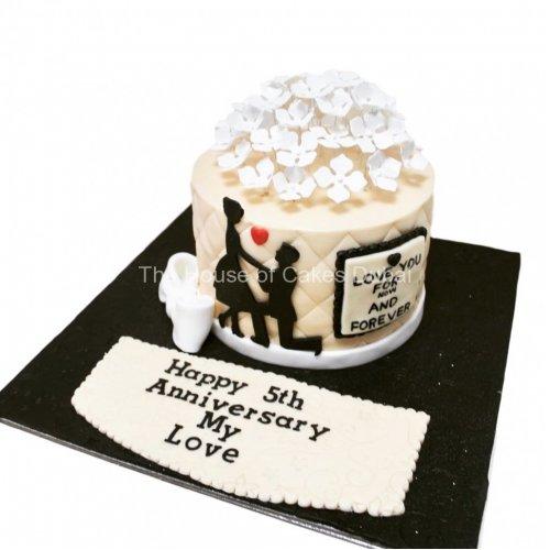 Anniversary cake 8