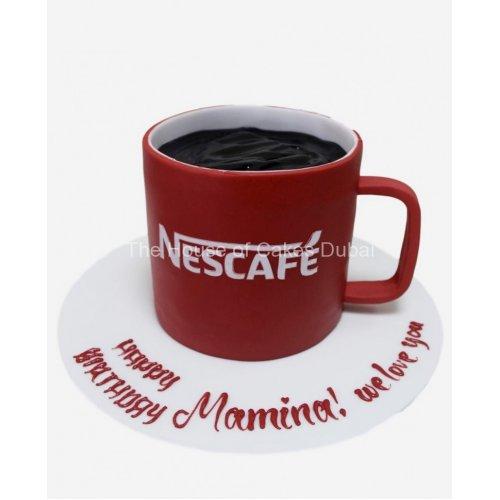 Nescafe cup cake