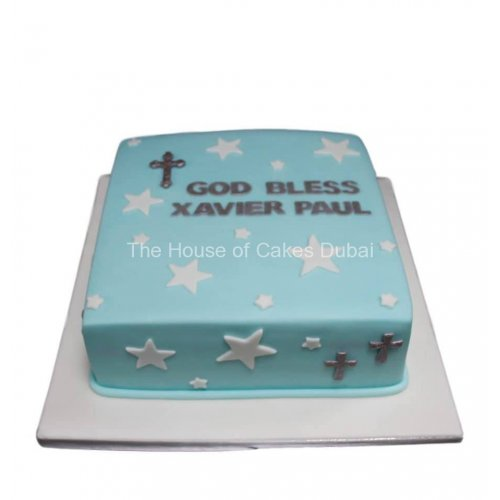 Christening or baptism cake 8