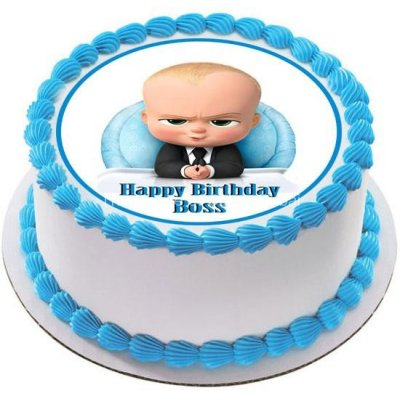 Boss baby cake 3