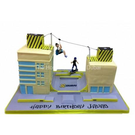 extreme sports cake 6