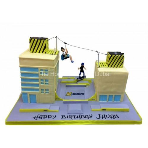 extreme sports cake 7