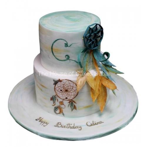 Dreamcatcher cake 2