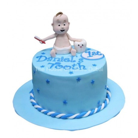 First tooth cake 3