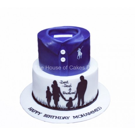 best dad and husband cake 6