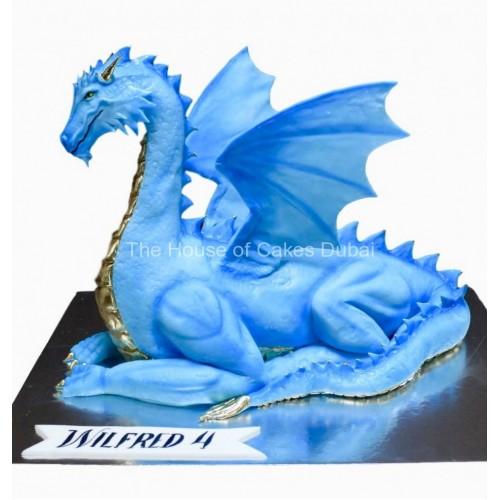 blue dragon cake 3d 7