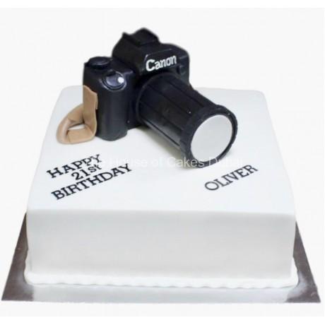 Camera cake 8