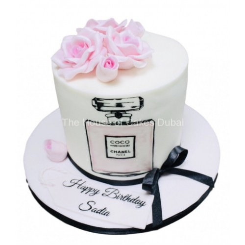 Coco Chanel cake 1
