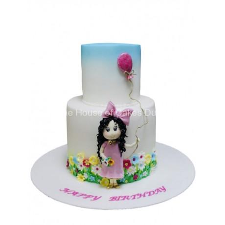 girl with balloon cake 6