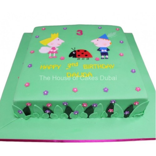 Ben and Holly Cake 3