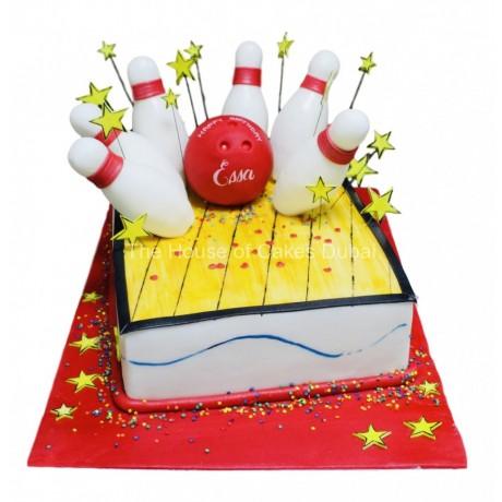 bowling cake 3 6