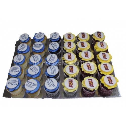 Cupcakes with logo 2