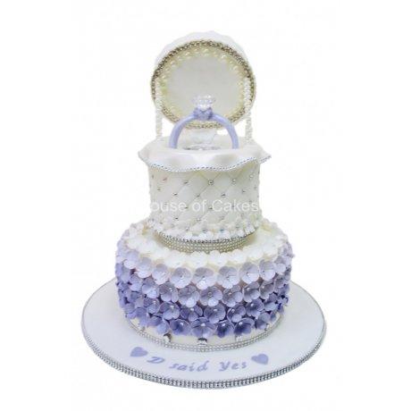 engagement ring cake 11 6