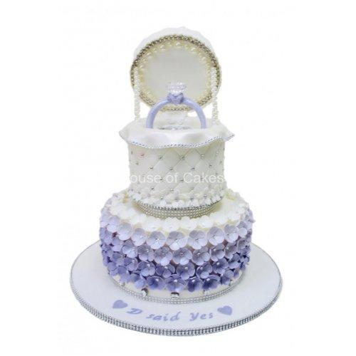 engagement ring cake 11 7