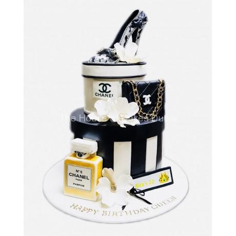 Luxury Chanel Cake