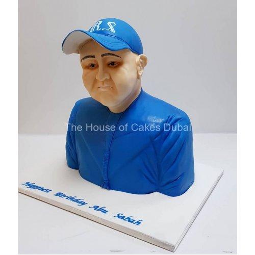 3d bust cake 7
