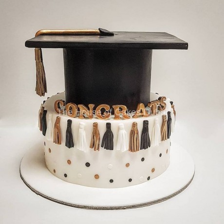 graduation cake 48 12