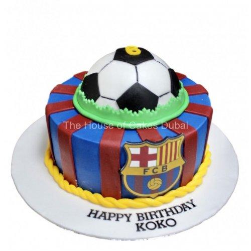Barcelona cake 19