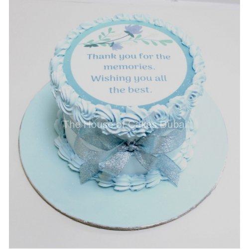 farewell cake 2 7