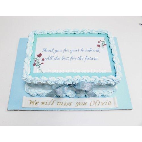 farewell cake 3 7