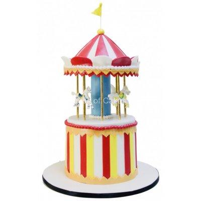 Circus theme cake 11