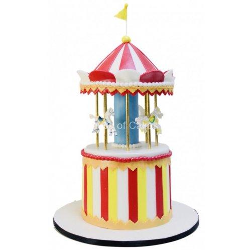 circus theme cake 11 7