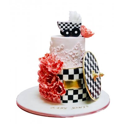 Baby shower cake 27