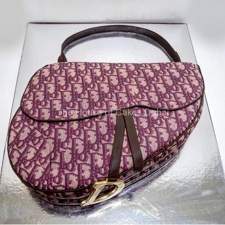 dior saddle bag cake 6