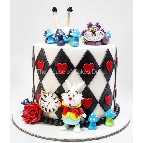 Alice in Wonderland Cake 3