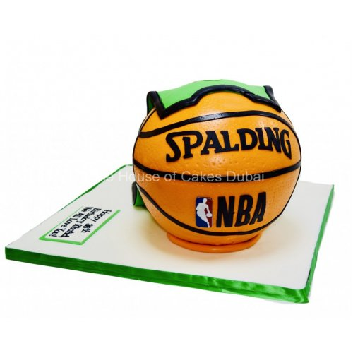 basketball and celtics jersey cake 7