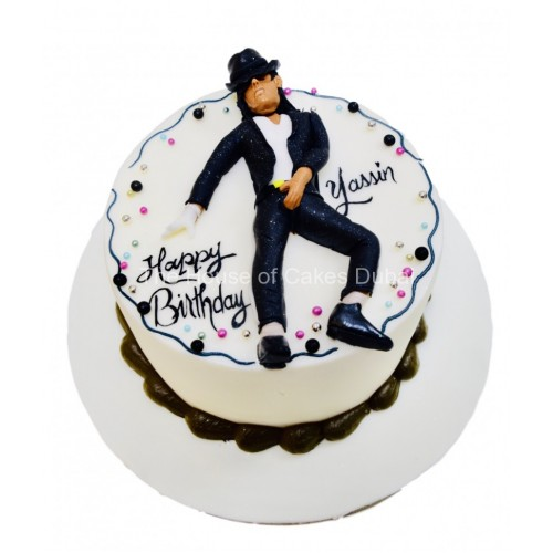 Brilliant Michael Jackson Cake 2 Personalised Birthday Cards Cominlily Jamesorg