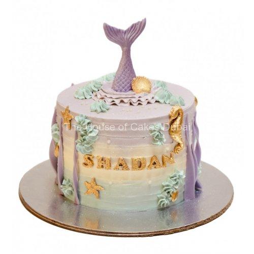 Mermaid cake 23