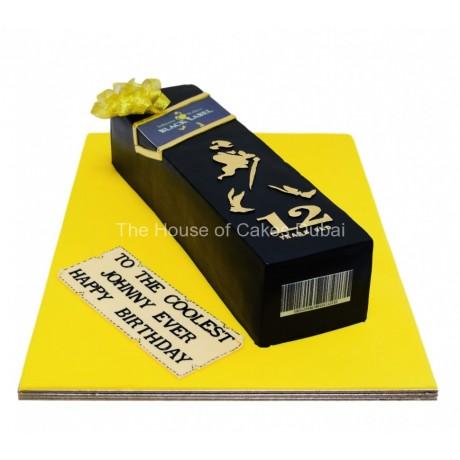 black label johnny walker whisky bottle cake 6