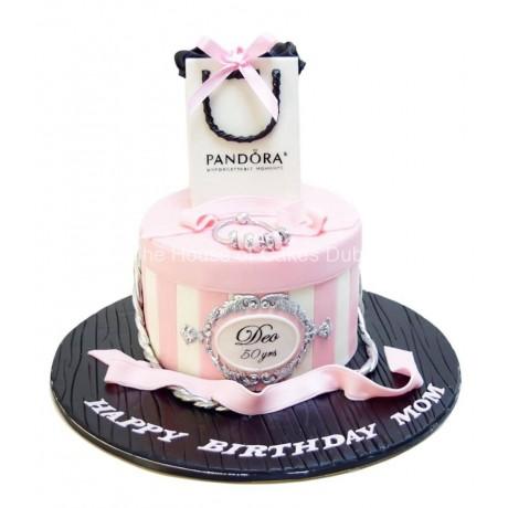 cake with pandora bag 6
