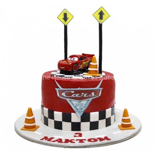 Disney cars Mcqueen cake 7