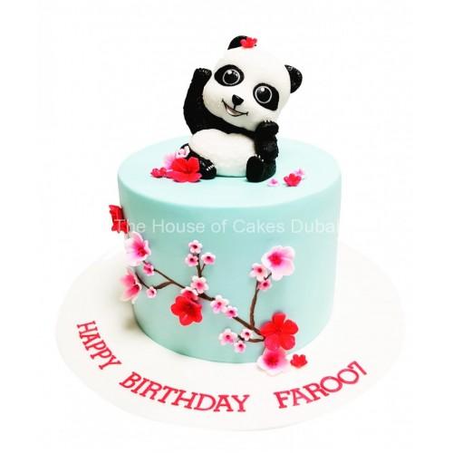 cute panda cake 8
