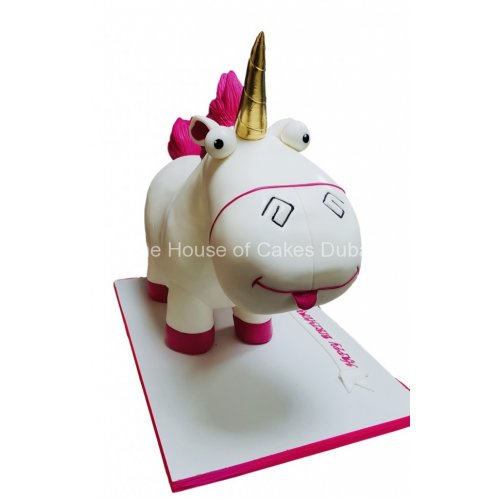 3d unicorn plush toy cake 8