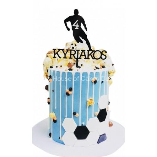 football theme cake 16 7