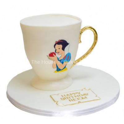 Snow white cake 7