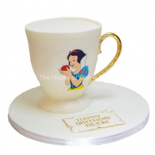 snow white cake 7 7