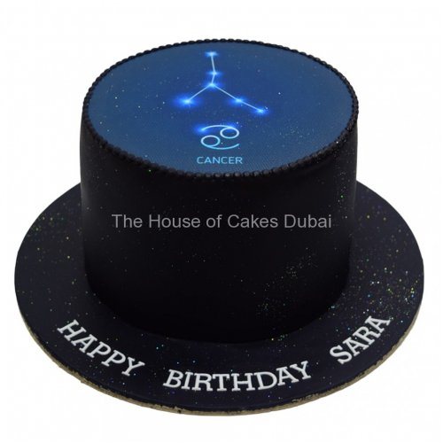 Cancer zodiac sign cake 2