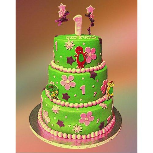 Barney cake 15
