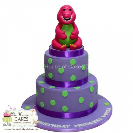 Barney Cake 31